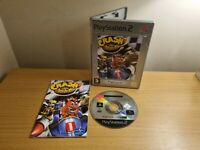 SONY PLAYSTATION 2 - PS2 - CRASH NITRO KART - COMPLETE WITH MANUAL - FREE P&P