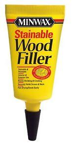 Minwax 42851000 Stainable Wood Filler, 1-Ounce 1 oz