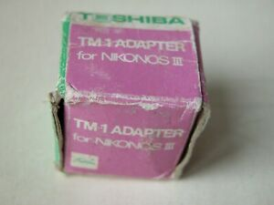 Nikonos/Toshiba TM-1 adapter for Nikonos iii