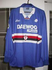 Sampdoria Game/Match Used/Worn Asics Soccer Jersey - Castellini Italy