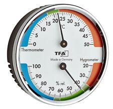 THERMOMETER- HYGROMETER TFA 45.2040.42 KLIMAKONTROLLE LUFTFEUCHTIGKEIT RAUMKLIMA