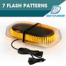 240 LED 15W Mini Roof Top Emergency Safety Warning Flash Strobe Light Amber 12V