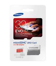 32GB Samsung EVO+ Read 80MB/s Micro SDHC UHS-I Class 10 Card + SD Adapter NYPR
