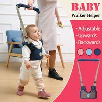 Baby Toddler Walking Assistant Learning Safety Reins Harness Walker Belt Kids !