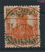 Danzig 44II Gefälligkeitsentwertung gestempelt 1920 Germania-Aufdruck (9108983