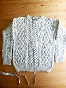 Aran Market cable sweater