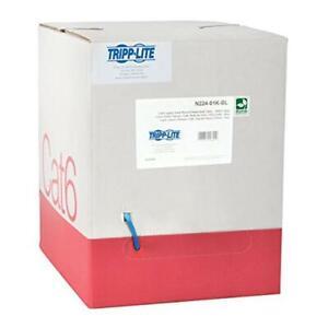 Tripp Lite N224-01K-BL 1000 ft. Cat6 Bulk Cable Network Bulk Blue