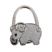 Hook Handbag Hook Holder Zinc Alloy Rhinestone Hanger Elephant Hook Foldable