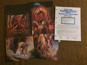 AD&D / Advanced Dungeons&Dragons  MC 14  - Fiend Folio - TSR 2132 rar