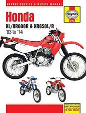 Haynes Honda XL/XR600-650 Manual M2183