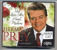 Hermann Prey 4-CD Reader's Digest Das Grosse Starporträt Ich Küsse Ihre Hand