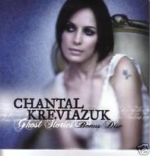 CHANTAL KREVIAZUK 2 Rare LIVE TRX PROMO CD Single 2007