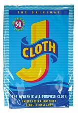 Original Johnson & Johnson Hygienic All Purpose Cleaning J Cloth - Pack of 50