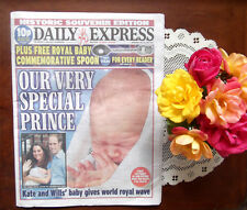Kate Middleton New Baby Our Very Special Prince Daily Express photos UK MINT