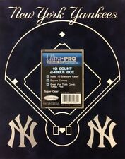 Deluxe New York Yankees Team Ultra Pro Card Holder 10ct. 2 piece box  8x10