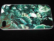 Doctor Who Hard Cover Case für iPhone 4 4s Puppen Bauchredner Puppe & Monster