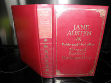 pride and prejudice BOOK sense and sensibility northanger abbey  by jane austen