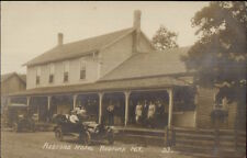 Redford Ny Jefferson County Hotel Car People on Porch c1910 Rppc dcn