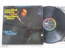 CANNONBALL ADDERLEY QUINTET Mercy.. Live at The Club..German Capitol Original