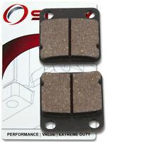Rear Organic Brake Pads 2012 Arctic Cat 350 Set Full Kit  Complete vg Front