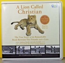 A Lion Called Christian by Anthony Bourke, John Rendall (CD, Unabridged)
