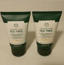 2 x The Body Shop Tea Tree Flawless BB Cream Perfection 01 Fair 40ml Brand New