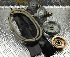 """John Deere D110, D120 42"""" Deck Rebuild Kit With Belt, Blades, Idlers & Spindles"""