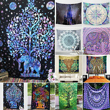 Mandala Tapestry Wall Hanging Bohemian Bedspread Throw Home Decor Picnic Mat