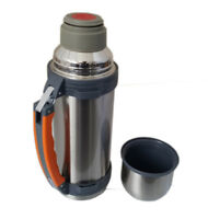 1L Vacuum Flask Stainless Steel Thermos 1L Hot Drinks Soup Insulated Xmax Gift