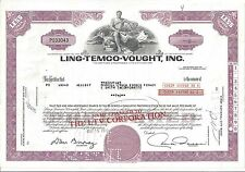 LING -TEMCO-VOUGHT INC........1972 STOCK CERTIFICATE