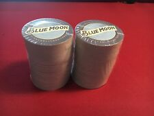 Blue Moon Brewing Double Sided Coasters HUGE!  Lot of 200
