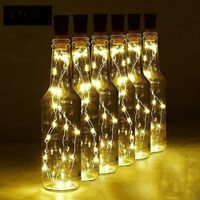 20PCS Battery Wine Bottle Lighting Cork Shaped Bar String LED Lights Party Home