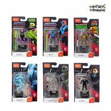 Mega Construx Heroes Series 5 Complete Set (Scareglow, Stratos, Donatello, More)