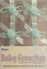 Clear Favor Boxes - Blue Rose (6) - Party Supplies