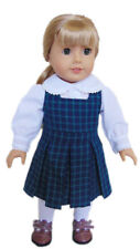 My Brittany's Blair Plaid School Jumper for American Girl Dolls