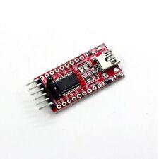 FTDI Adapter USB 3.3V 5.5V TTL Seriell Adaptermodul Mini B USB Kompakt FT232RL