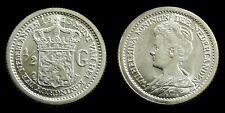 Netherlands - Halve Gulden 1913 vrijwel UNC originele muntkleur