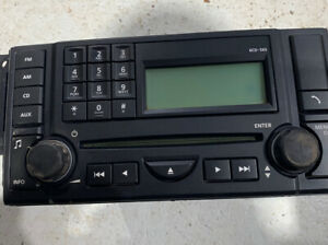 range rover sport discovery 3 stereo radio 6 disc cd player head unit vux500540