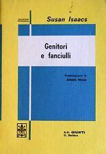 SUSAN ISAACS GENITORI E FANCIULLI GIUNTI BARBÈRA 1968