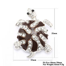 3DCrystal Chunk Charm Snap Button Fit For Noosa Necklace/Bracelet NSKZ138