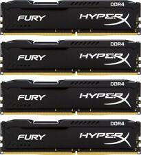 Kingston HyperX Fury 32 GB (4x8GB) HX424C15FBK4/32 DDR4-2400 PC4-19200 #304151