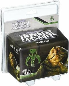 Star Wars: Imperial Assault - Jabba the Hutt - Villain Pack NIB/MINT/QUICK SHIP