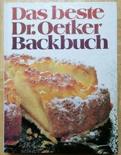Das beste Dr. Oetker Backbuch 1. Auflage 1982