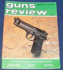 GUNS REVIEW MAGAZINE DECEMBER 1984 - THE MONSTER IN THE PUNT