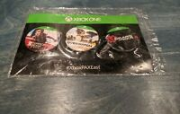 XBOX PaxEast 2016 Pin Set Promo Sealed Overwatch Mirror's Edge Gears of War