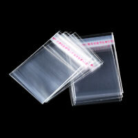 1000 Clear Cellophane Cello Bags Display Gift Pouches For SWEETS LOLLIPOPS PARTY