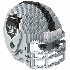 NFL Oakland Raiders 3D BRXLZ Puzzle Helm Helmet Set Football Footballhelm