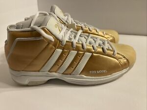 """Adidas Pro Model 2G """"Gold Medal"""" Tokyo 2020 Men's Size 8 New FV8384"""