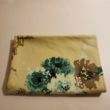 Fabric 50 in X 35 in Quilt Sew Green Floral Color Styled Dupont Savalux Scotchga