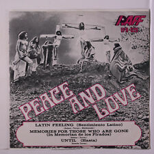 PEACE AND LOVE : Latin Feeling (sentimiento Latino)  +2 45 (Mexico, gatefold c
